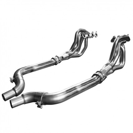 "2"" Stainless Headers & Non-Catted Conn. Kit. 2015-2020 Mustang GT 5.0L."