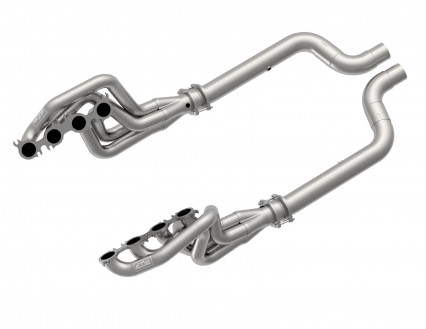 "2"" x 3"" Headers & Non-Catted Connection Kit - 2020 Mustang GT500 5.2L."