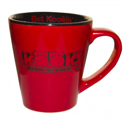 "Get Kookin"" Coffee Mug - Red"