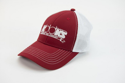 Kooks Trucker Hat Red, Front Logo Kooks Trucker hat w/ mesh back and logo