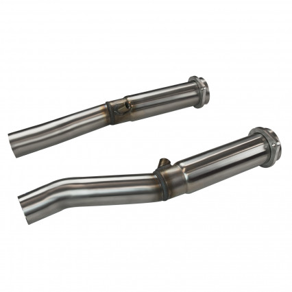 "3"" SS Non-Catted Connection Pipes(Corsa). 2004-2007 Cadillac CTS-V 5.7L/6.0L."