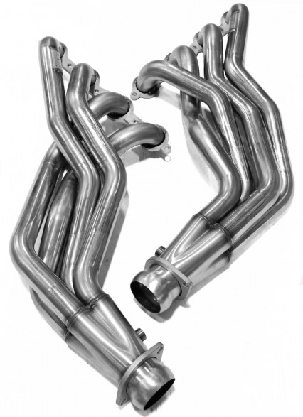 "2"" Stainless Headers. 2009-2015 Cadillac CTS-V."