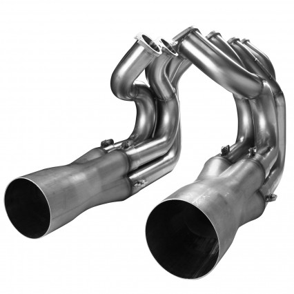 "2-1/4"" x 2-3/8"" x 4-1/2"" Stainless Headers - Strut Front End Door Car - BBC"