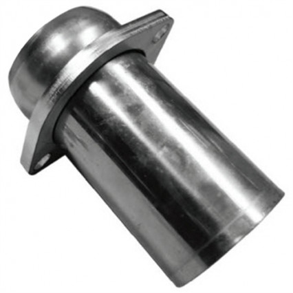"3"" SS Male Portion of Ball and Socket Connection - Includes 2-Bolt Flange"