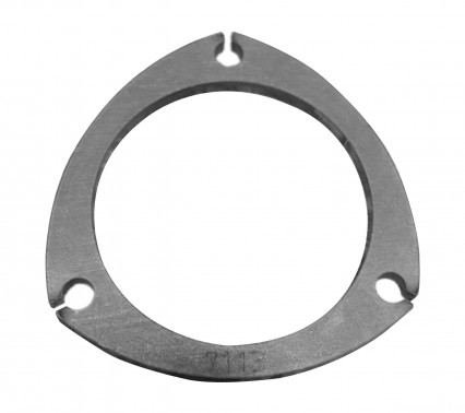 "4"" 3-Bolt Collector/Exhaust Flange. 5/16"" Thick Mild Steel."