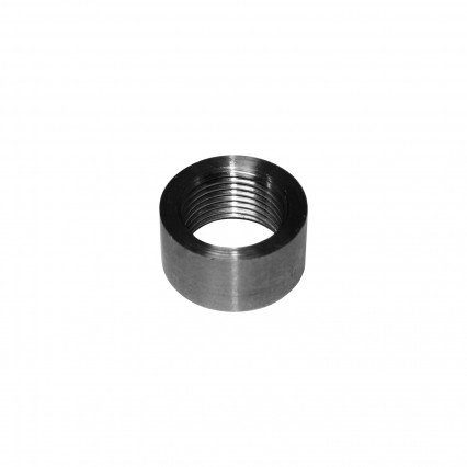 02 Sensor Bung Stainless Steel. Flat. M18 x 1.50 Threads.