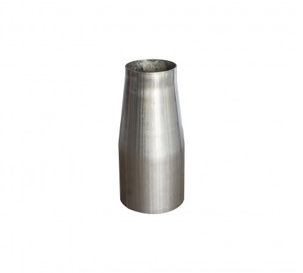 "3"" x 3-1/2"" 304 Stainless Steel Reducer Cone - 6"" Long"