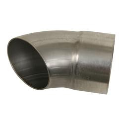 "3"" 304 Stainless Turnout - 6"" Long.  Slip-Fit over 3"" Collector or Pipe."