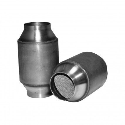 "3"" High Flow Race Catalysts 7 1/2"" Long Body."