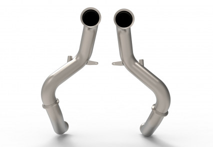 "3"" Non-Catted Stainless Steel Turbo Down Pipes. Made from 304 Stainless Steel"