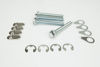 Stage 8 Ball and Socket Bolt Kit. Includes 4) Bolts and Locking Hardware.