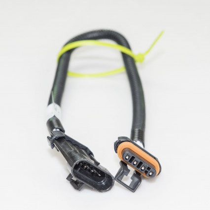 "O2 Extension Harness GM LT1/LS1 1) 18"" Extension Harness (4-pin) Flat Connector"
