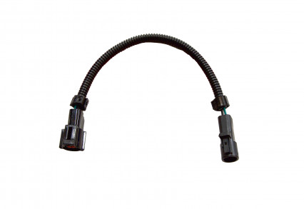 "O2 Extension Harness Ford 1) 12"" Extension Harness (4-Pin) Round Connector"