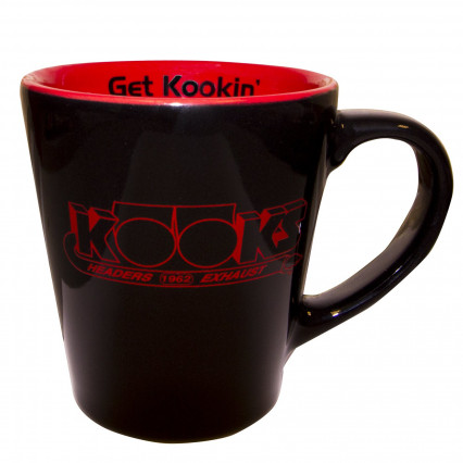 "Get Kookin"" Coffee Mug - Black"