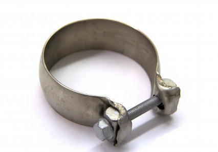 "3"" Stainless Torca Swivel-Seal Clamp for Ball and Socket Connections"