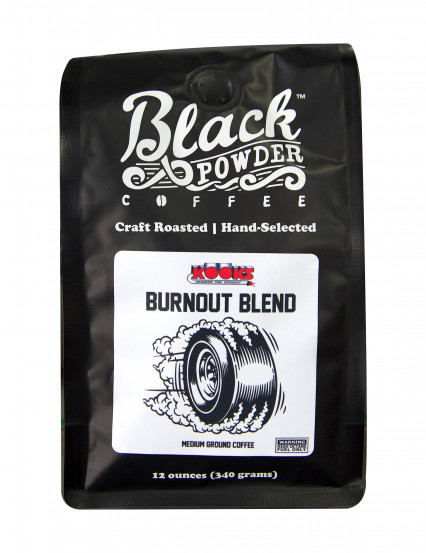 Kooks Burnout Blend Coffee by Black Powder Coffee Roasting Company