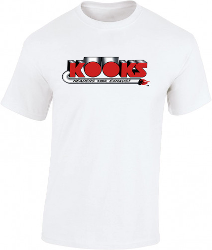 White T-Shirt with Kooks Logo