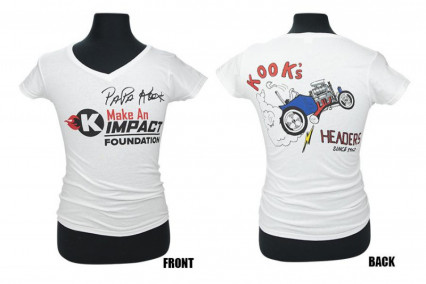 PAPA KOOK FOUNDATION WOMEN'S T-SHIRT