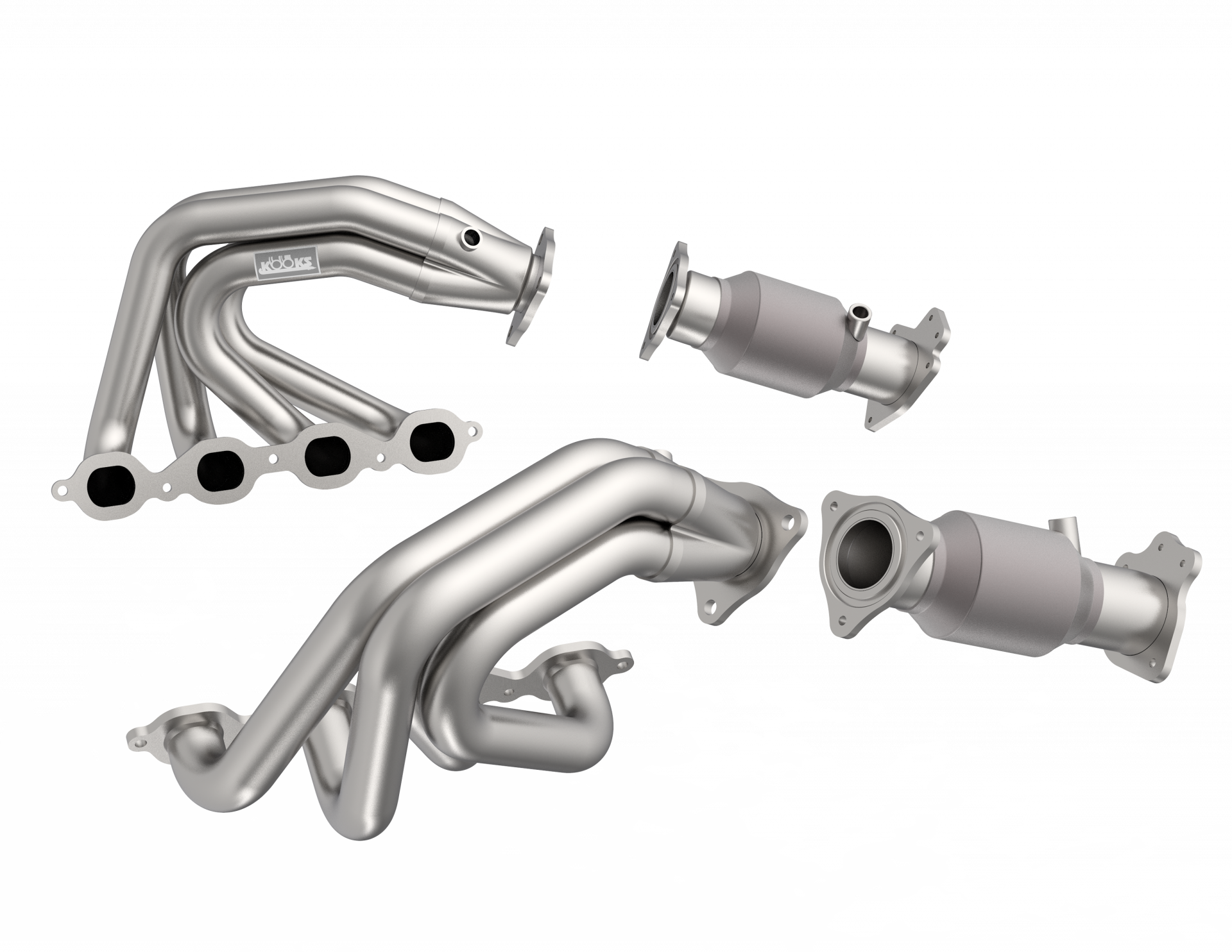 C8 Super Street Series Headers and Connection Pipes